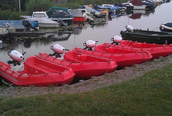 Motorboten bij De Merenburger