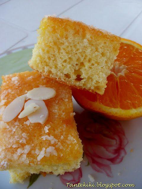 Tante Kiki: Υγρό κέικ πορτοκάλι