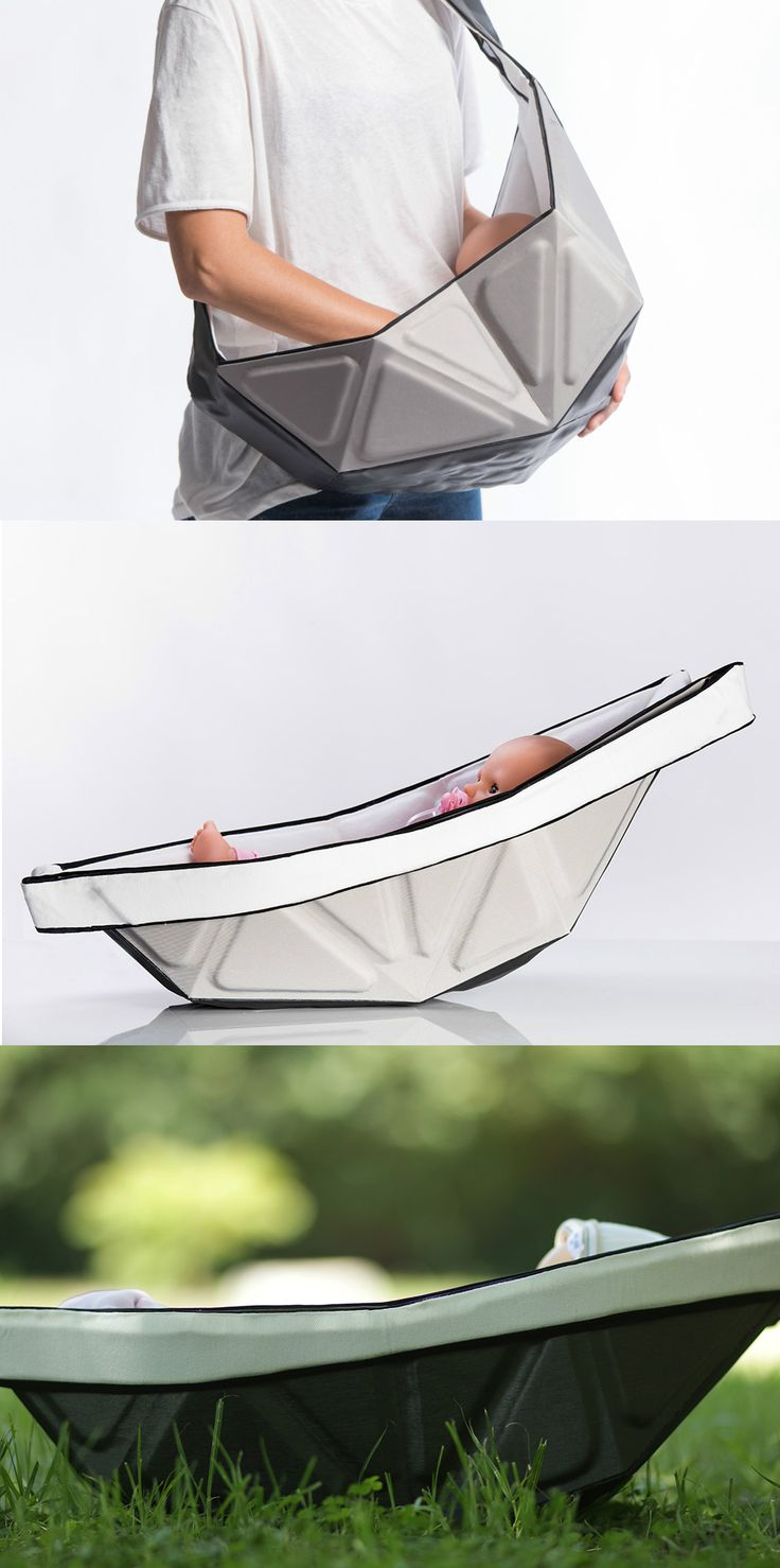 A BABY SLING FOR HIPSTER PARENTS | Read Full Story at Yanko Design