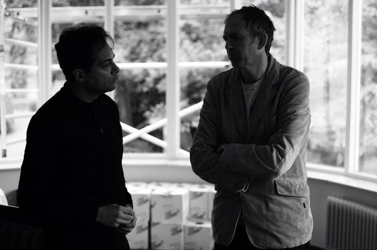 Huub van Osch en Anton Corbijjn. #antoncorbijn #huubvanosch #vosch #thebrandguide