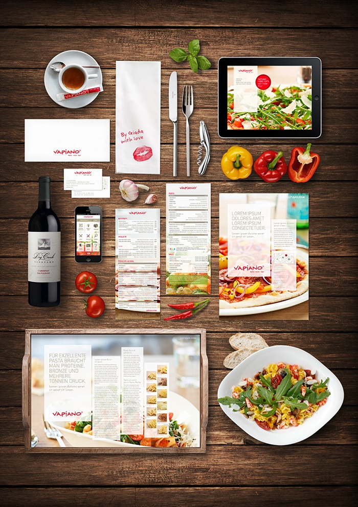 Vapiano Coporate Design