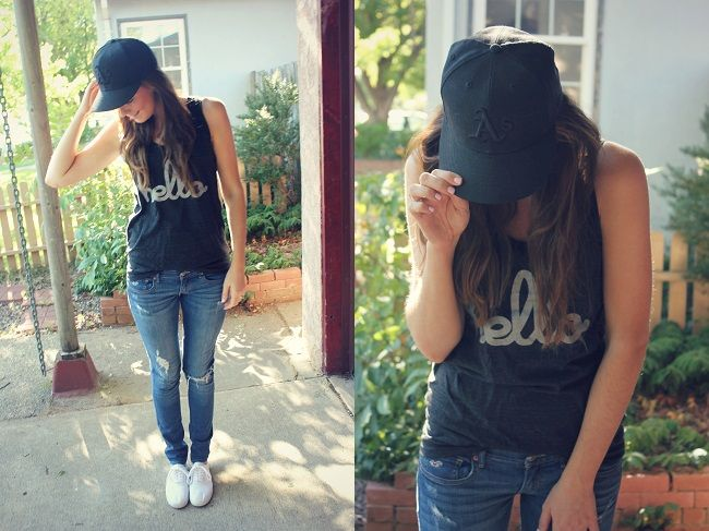 baseball game outfit