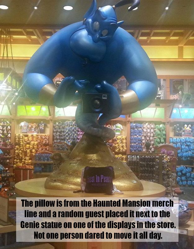 This touching tribute.   16 Of The Greatest Things To Ever Happen At A Disney Store