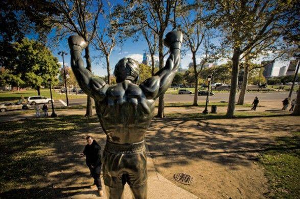 Rocky Statue and Rocky Steps