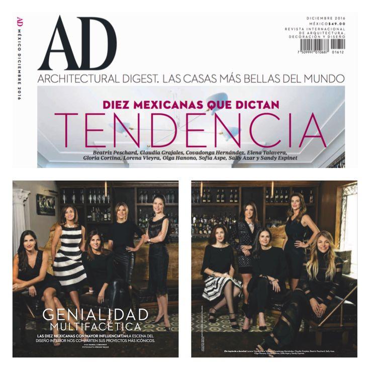 """""""Las diez mexicanas con mayor influencia en la escena del diseño interior"""" Gracias @admexico por esta nota."""
