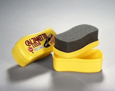 Esponjas para el mantenimiento del calzado