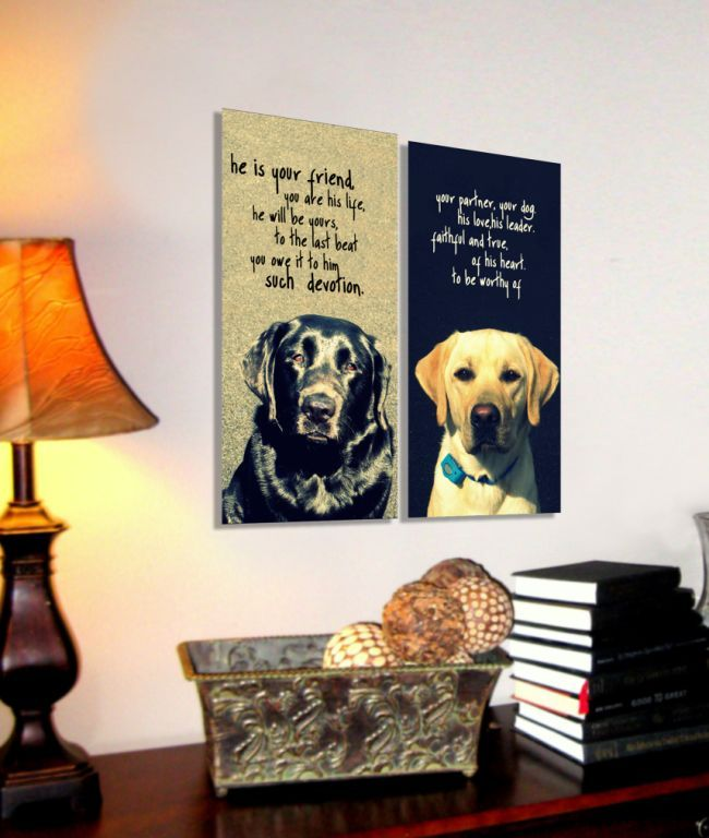 Would love to do this for our dogs..... canvas dog art ...