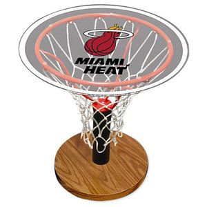 Miami Heat Room Decor | ... Page: Home Territory > HOME DECOR > Spalding NBA Miami Heat Table