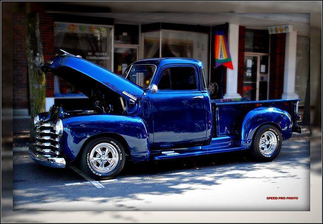 1953 Chevrolet Pickup by SpeedProPhoto, via Flickr