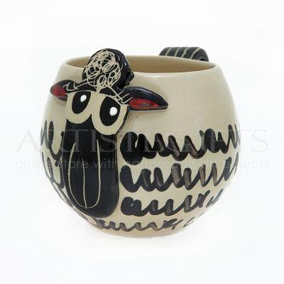 Κούπα Κεραμική Άσπρo Πρόβατο. Αποκτήστε το online πατώντας στον παρακάτω σύνδεσμο http://www.artistegifts.com/koupa-keramiki-aspro-provato.html
