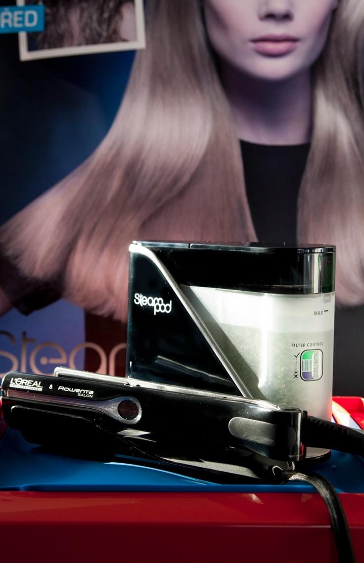 STEAM POD, nová technologie pro šetrnou regeneraci vlasů.