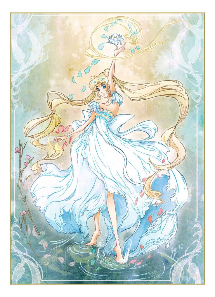 Princess Serenity from Sailor Moon by yienyien