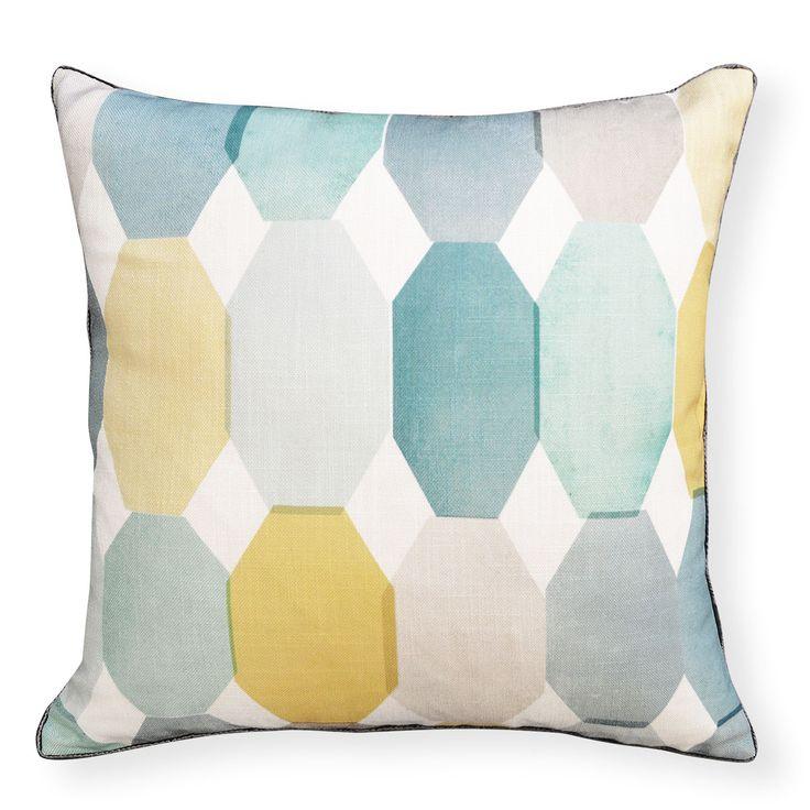 Madras Link Octagon Cushion