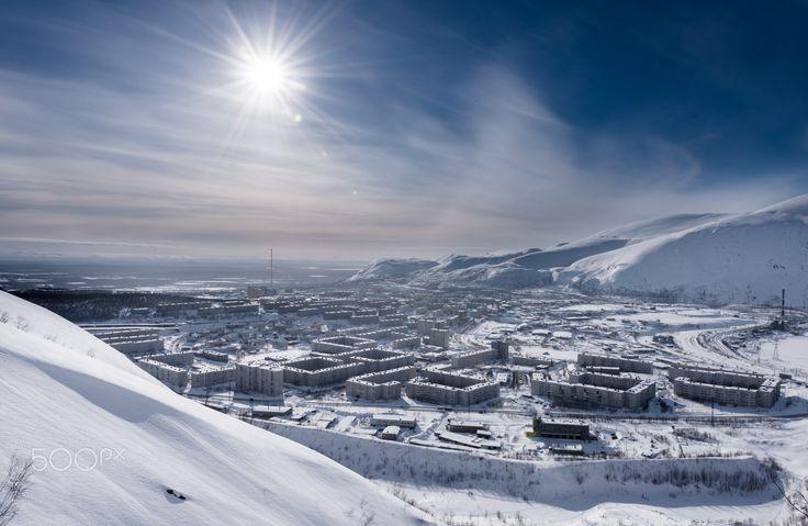 Arctic City, Russian North - Кировск (в 1929—1934 — Хибиногорск) — город в Мурманской области России. Kirovsk, Murmansk Oblast