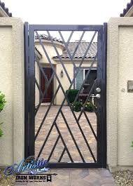 Resultado de imagen para modern wrought iron doors