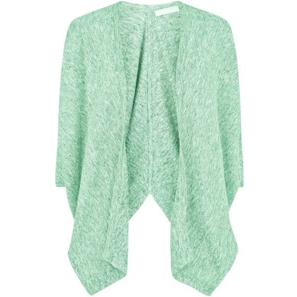 Fenn Wright Manson Petula Cardigan , Mint (1 115 ZAR) ❤ liked on Polyvore featuring tops, cardigans, outerwear, sweaters, mint, bat sleeve tops, over sized cardigan, green top, batwing sleeve top and fenn wright manson