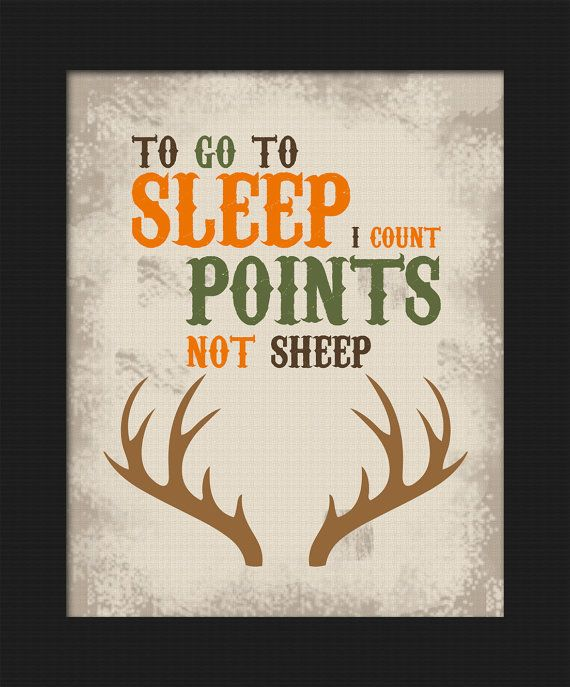 Hunting themed To go to sleep  I count points  not sheep Deer Boy s bedroom. 17 Best ideas about Hunting Theme Bedrooms on Pinterest   Hunting