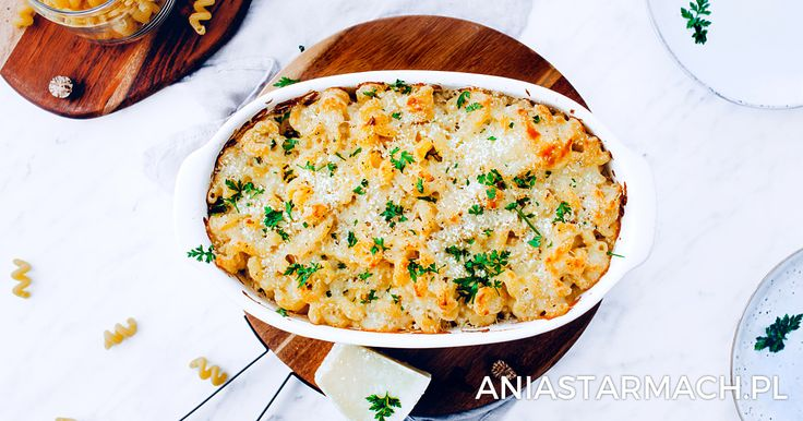 Maccaroni & Cheese – makaron w sosie serowym   Ania Starmach