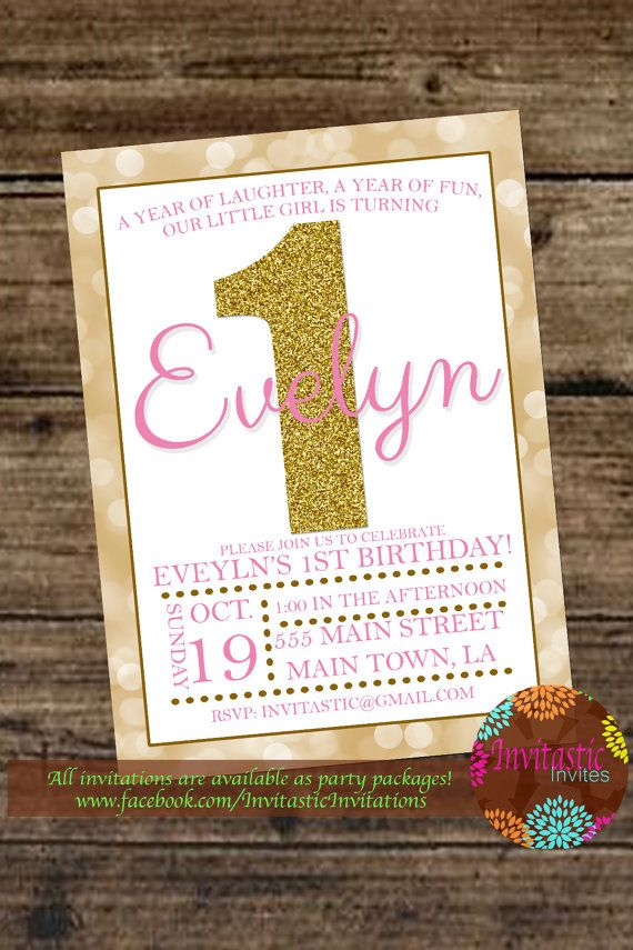 Hey, I found this really awesome Etsy listing at https://www.etsy.com/listing/206679395/1st-birthday-girl-pink-and-gold-theme
