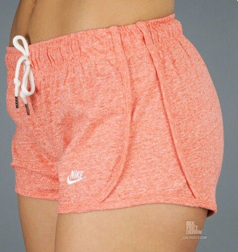 Cute orange nike shorts
