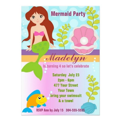 16 best Pool Party Birthday Invitations images on Pinterest - birthday invitation pool party