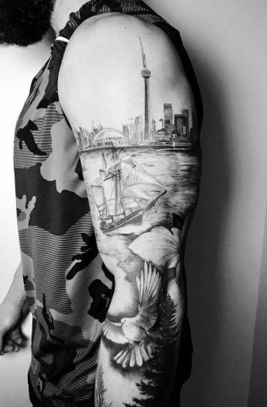 Tattoo Artist: Ashley Driscoll The Village Ink | Tattoo Shop Toronto #tattoo #tattoos #blackandgreytattoos #blackwork #thevillageink #toronto #tattooinspo
