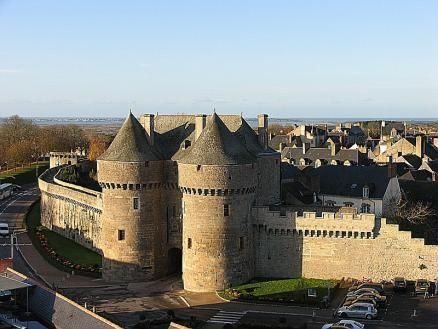 Loire-Atlantique : Cité médiévale de Guérande
