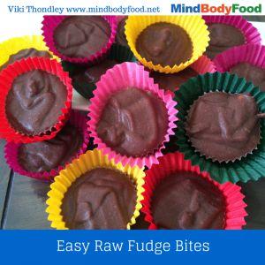 Easy Raw Fudge Bites