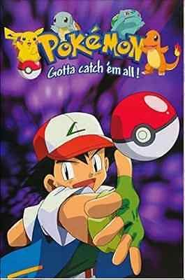 Pokemon Pikachu Ash Squirtle Charmander New Licensed Poster By Scorpio