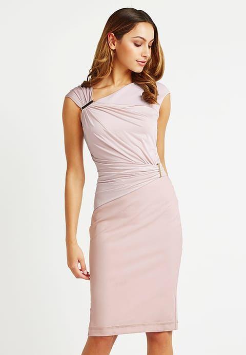 Lipsy SLINKY DRAPE BODYCON  - Cocktailkleid/festliches Kleid - nude für 78,50 € (25.11.17) versandkostenfrei bei Zalando bestellen.