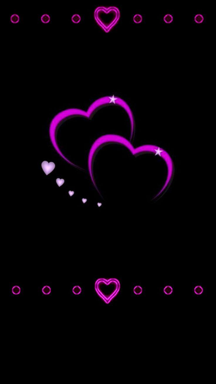 гиф фиолетовые сердца занимаемся