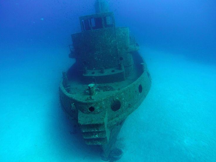 Wreck of Rozi in Malta. #sustainable #scuba