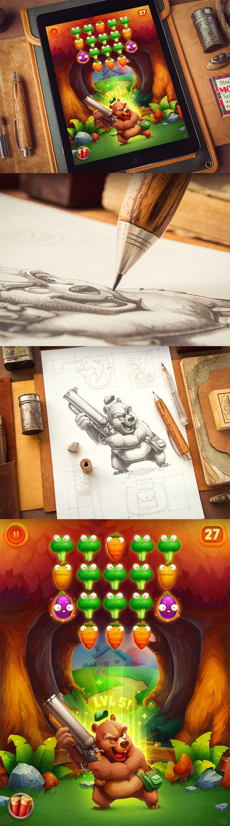 Character Design: part 2 on Behance