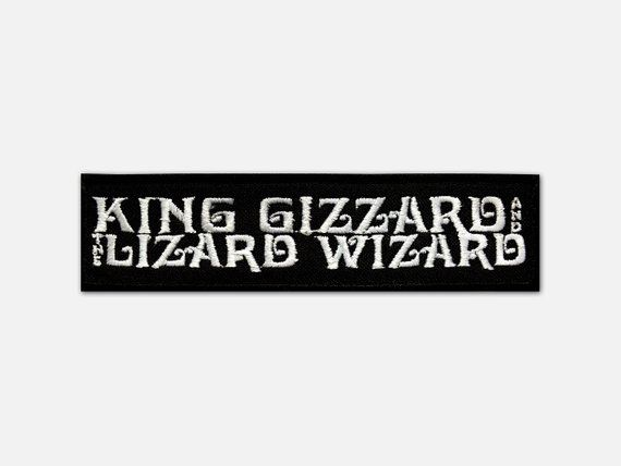 King Gizzard The Lizard Wizard Embroidered Patch Rock Band