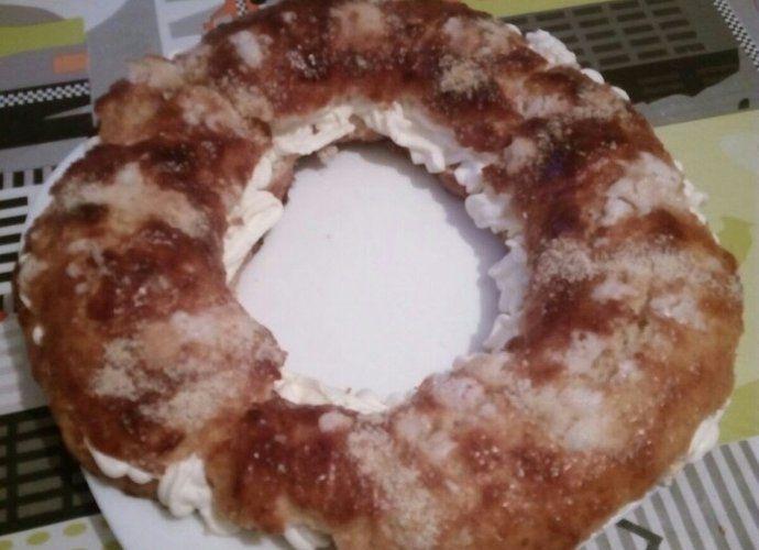 Roscón de reyes relleno para #Mycook http://www.mycook.es/cocina/receta/roscon-de-reyes-relleno