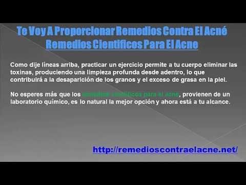 Remedios Cientificos Para El Acne - http://solucionparaelacne.org/blog/remedios-cientificos-para-el-acne/