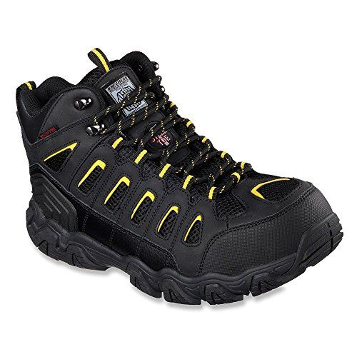Amazon.com | Skechers for Work Men's Blais-Bixford Steel Toe Hiking Shoe | Hiking & Trekking