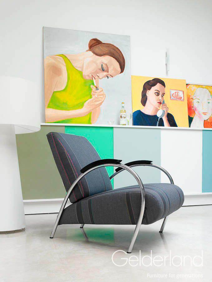 Gelderland fauteuil 5770 by Jan des Bouvrie #gelderland #dutchdesign #interieur #jandesbouvrie