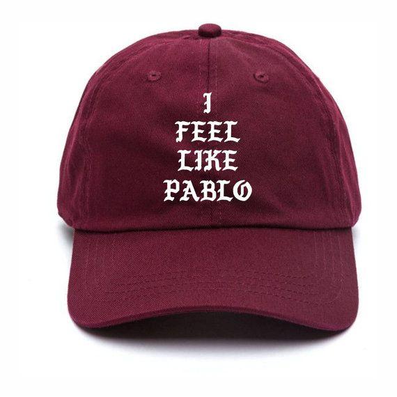 I Feel Like Pablo Baseball Hat Kanye West The Life Of Pablo Merch Yeezy Season 3 Yeezus