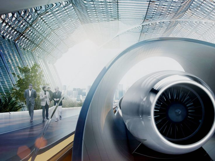 Slovakia's Hyperloop Moves a Step Closer to Not Being a Joke | Credit: Hyperloop Transportation Technologies | From Wired.com