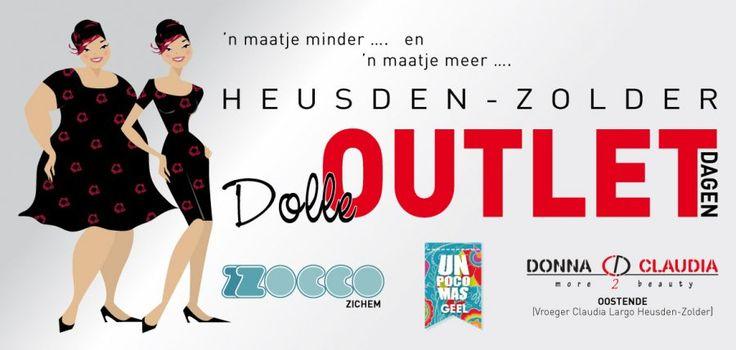Dolle outletdagen voor dames met 'n maatje minder...& 'n maatje meer... in Heusden-Zolder ! -- Heusden-Zolder -- 16/10-26/10
