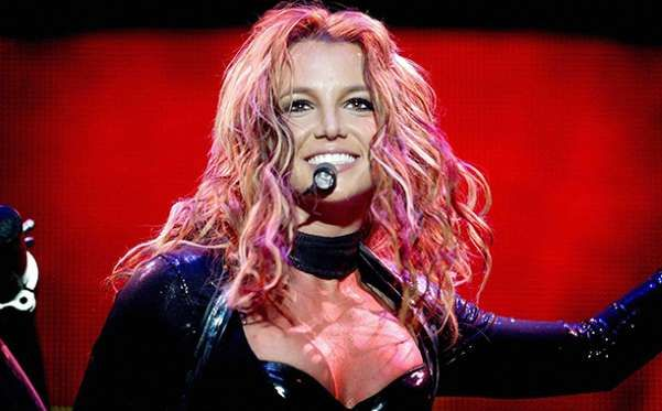 Britney Spears on Her The Onyx Hotel Tour on May 7, 2004 - AFP/Getty Images