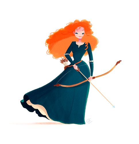 Merida - disney-females Fan Art