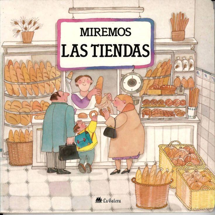 Las tiendas / guión Teresa Ribas y Pilar Casademunt; ilustraciones Roser Capdevila http://absysnetweb.bbtk.ull.es/cgi-bin/abnetopac?ACC=DOSEARCH&xsqf99=514369.