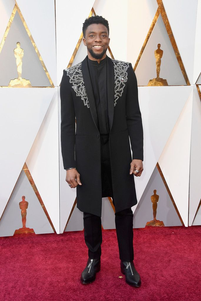 Oscars 2018 Red Carpet Report: Chadwick Boseman, King of Menswear, in Givenchy Couture | Tom + Lorenzo