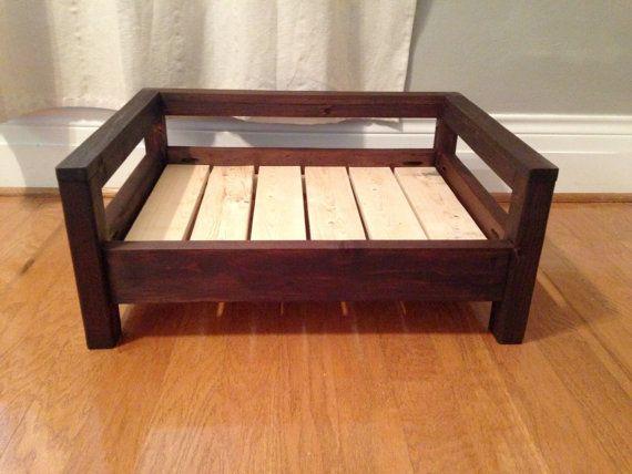 Small Dog Bed Dog Bed Raised Dog Bed Washable Dog by CozyCama