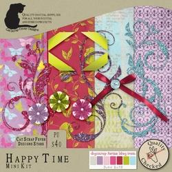 Happy Time blog train freebie