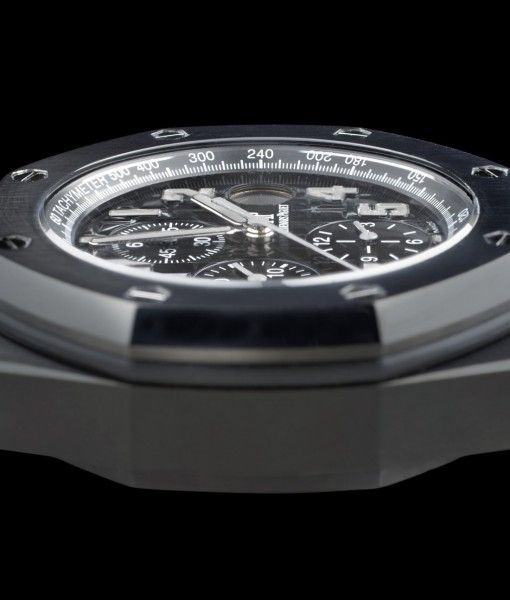 Diamond-Like Carbon special Coating at very #affordable prices. Audemars Audemars Piguet Offshore Nero Reference of 26020ST.00.D001IN.01. A model watch from UK's trusted & Authorized dealer of Audemars Piguet watches since 1992.