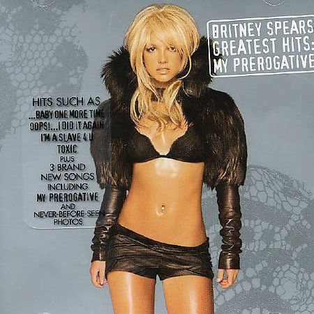 "CD BRITNEY SPEARS ""MY PREROGATIVE GREATEST HITS"". New and sealed #TeenPop"