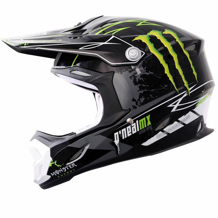 Oneal 712 Monster Energy Motocross Helmet Description The ONeal